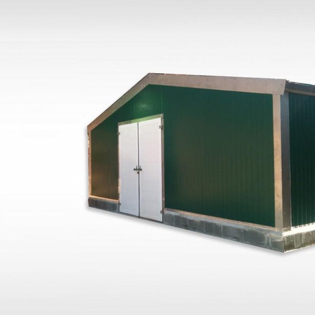 Naves y construcciones modulares granjas